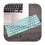 14 pouces Pour Asus ZenBook 14 UX433 UX433FN UX433FA8265 2019 Housse de clavier de protection de la peau Blanc/bleu.