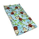 Teash ~ Serviettes de Cuisine en Microfibre Jungle Camp Monkeys, Serviettes Douces et absorbantes pour Votre Cuisine, 27,5 * 15,7 Pouces