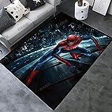 xuejing Tapis Salon Dessin Animé Anime Marvel Les Avengers Spiderman Balcon Chambre Rectangulaire Couloir Pépinière Décoration De La Maison Étage Mode Anti-Dérapant