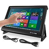 ETEPON pour écran Raspberry Pi 4, Moniteur Tactile Capacitif HDMI de 7 Pouces Écran LCD 1024 * 600 HD