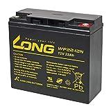 Powery Batterie au Plomb-Acide KungLong pour Fauteuil Roulant électrique Invacare Lynx SX-3, 12V, Lead-Acid [ Batterie pour vélos électriques et fauteuils Roul ]