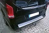 W447 Protection de bordure de chargement avec rebord en acier inoxydable