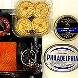 Offre : pack de fête hybride Beluga d'eau douce (50 g caviar, saumon, 16 blinis)