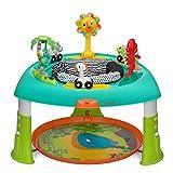 Infantino Table d'activités 360° évolutive et transformable en table d'éveil ou en table avec plateau lumineux et musical - Table 3 en 1 pour bébés et enfants, pour la stimulation des sens