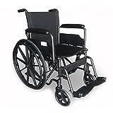 Mobiclinic, S220 Sevilla, Fauteuil roulant pliable, Autopropulsé, Orthopédique, Accoudoirs pliants, Largeur de l'assise : 40 cm, Pour personnes âgées et handicapées