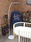 Support pour ciel de lit bébé - 1,70 m de haut - Blanc - ComfortBaby®
