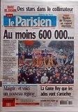 PARISIEN (LE) [No 18818] du 11/03/2005 - trafic de cocaine , des stars dans le collimateur - paris , theatre de l'empire - un rapport alarmiste - les manifestations nouveau regime pour maigrir la game boy que les ados vont s'arracher