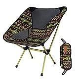 Chaise De Camping Portable Pliable Compact, Chaise De Plage Pliante Légère Et Solide avec Sac De Transport pour Randonneurs, Camping, Plage, Plein Air
