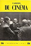 Cahiers du cinéma N° 156 : fritz lang / cannes 1964 / claude lévi-strauss / ingmar bergman / joseph losey