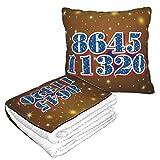 XCNGG Biden Harris 864511320 Flannel Collection Soft Cosy, Parfait pour Le lit ou Le canapé, couvertures d'oreiller