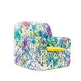 SleepAA Fauteuil pour Enfant 1-4 ans | 40 x 40 x 42 cm | Déhoussable et Lavable en machine à laver | petit Canapé Stable | Confortable et Évolutif pour enfant