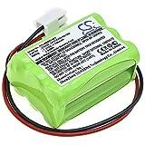 CS-MOS826BT Batterie 700mAh Compatible avec [Infinite] Prime WES Siren, pour [MARMITEK] ProGuard OS826 Siren, ProGuard800 Siren, Wireless ProGuard Alarm Panel remplace GP1000AAAH6YMX, pour GP11AAAH6Y