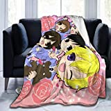 XCNGG Couverture Ouran High School Soft and Comfortable Flannel Blanket Sofa Bed Cover Blanket Warm Air Conditioning Quilt 50' x40