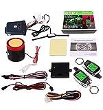 XINGFUQY 2020 Spy 2 Way Moto Système d'alarme avec télécommande de démarrage du Moteur de démarrage à Micro-Ondes Capteur Affichage LCD coloré Pager