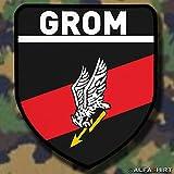 Patch patch/gROM-polonaise spezialeinheit reaktionsgruppe pour opérationnelle donnerschlag pologne armoiries#6015 manœuvres militaires