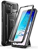 SUPCASE Coque Samsung Galaxy S10 Lite, Coque Antichoc Intégrale de Protection Robuste avec Protecteur d'écran Intégré, Béquille, Clip de Ceinture [Unicorn Beetle Pro] pour Samsung S10 Lite 2020 (Noir)
