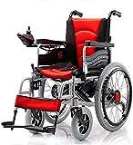 Fauteuil roulant électrique Fauteuil roulant électrique haut de gamme Roues électriques, Fauteuil roulant d'aide à la mobilité pliable et pliable, Transport léger, Fauteuil roulant motorisé, Faut