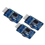 DollaTek 3Pcs Minuscule DS3231 AT24C32 I2C Module de précision Horloge en Temps réel Module pour Arduino