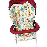 1PC respirant bébé poussette siège Pad siège de voiture doublure chaise haute coussin de siège de couverture en coton tapis de siège Pad protecteur pour bébé nourrisson (cerf)