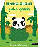 Cache-cache - Petit panda - Livre à toucher pour les bébés dès 6 mois
