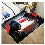 QQQE Tapis Longs Enfants Chambre Cuisine Bain Salon Jouer Tapis De Sol Baie Vitrée Bébé Ramper Jouer Dessin Animé Marvel Panthère Batman Enfant Cadeau