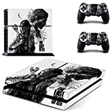 TSWEET The Last of Us Part 2 Ps4 Stickers Playstation 4 Skin Sticker Decals Cover for Playstation 4 Ps4 Console and Controller Skins