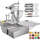 VEVOR Friteuse à Beignets Manuelle 220v Machine à Frire En Forme De Donut Pour Faire De Délicieux Beignet/Du Chocolat/Des Bonbons
