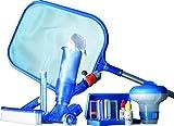 Gre 08050 - Kit de Nettoyage pour Piscines auto portantes, 7 accessoires
