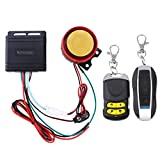 WINOMO système d'alarme de moto système de sécurité anti-vol avec de double commande à distance universelle