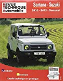 E.T.A.I - Revue Technique Automobile 502.5 - SUZUKI-SANTANA S 410 - 1985 à 1998