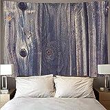 Motif de texture en bois rétro grand art tapisserie psychédélique tenture murale serviette de plage couverture mince tapisserie A1 180x230 cm