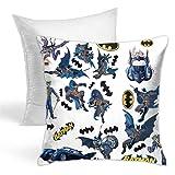 Housse de coussin décorative Batman Gotham Guardian - Motif forêt tropicale - Pour canapé, chambre à coucher