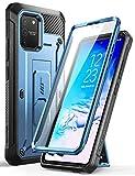 SUPCASE Coque Samsung Galaxy S10 Lite, Coque Antichoc Intégrale de Protection Robuste avec Protecteur d'écran Intégré, Béquille, Clip de Ceinture [Unicorn Beetle Pro] pour Samsung S10 Lite 2020 (Bleu)