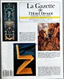 GAZETTE DE L'HOTEL DROUOT (LA) [No 1] du 06/01/1989 - MANUFACTURE ROYALE DE REVEILLON VERS 1780 - RARE PANNEAU DE PAPIER PEINT A DECOR D'ARABESQUE - ALFRED SISLEY - UNE RUE - GERRIT RIETVELD - CHAISE ZIG-ZAG