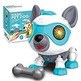 aovowog Jouet Robot pour Chien,Chien Robot Intelligent pour Enfants,Jouet Interactif Jouets éducatifs Précoces Intelligents pour 3 4 5 6 7 8 Ans Garçons Filles Cadeau de Noël d'anniversaire