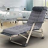 Poids léger Chaise de transat extérieure à l'extérieur de gravité zéro / chaise longue - Cadre de soleil en acier Chaise longue, dossier réglable, inclinable portable, plage, camping, jardin, plis pou