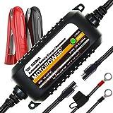 MOTOPOWER MP00205C-EU Chargeur Automatique 12V 800mA-Charger, Entretenir et optimiser Les Batteries
