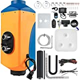 Mophorn Chauffage Diesel 12V 8KW Réchauffeur d'air diesel kit de réchauffeur d'air PLAN bleu et orange en aluminium carburateur en plastique pour voiture camions VR Croisières