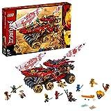 LEGO®-NINJAGO® Le Q.G des ninjas Jeu pour Enfant 9 Ans et Plus, Briques de Construction Garçon et Fille, 1178 Pièces 70677