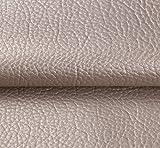 Tissu Simili Cuir Imperméable Tissu D'ameublement Tapisserie pour Canapé De Siège De Voiture Meubles Vestes Sac À Main Tissu Au Metre 140 CM (Largeur Fixe) (Color : Silver)