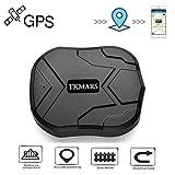 Tkmars Traceur GPS 90 Jours en Veille GPS Tracker Temps Réel Localisateur Traceur Véhicule GPS/GSM/GPRS/SMS Antivol Voiture Moto Vélo TK905