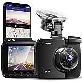 AZDOME 4K WiFi GPS Dashcam Caméra de Voiture avec 170°Angle, Vision Nocturne, Enregistrement en Boucle, G capteur, Surveillance de Stationnement Caméra Embarquée Enregistreur de Conduite(GS63H)