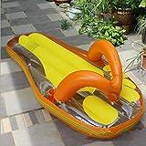 Svvsgf nageurs d'air, Production de Pantoufles gonflables Pantoufles à Chevrons gonflables Chaise Longue Flottante de Loisirs de l'eau de lit