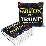 XCNGG Farmers for Trump Flannel Collection Soft Cosy, Parfait pour Le lit ou Le canapé, couvertures d'oreiller