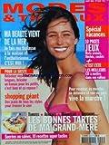 MODES ET TRAVAUX [No 1245] du 01/08/2004 - SPECIAL VACANCES - 10 PAGES DE JEUX - MA BEAUTE VIENT DE LA MER - LA THALASSO A LA MAISON - POUR LA SIESTE - RELOOKER VOS CHAISES LONGUES - BRICOLER UN HAMAC POUR LES PETITS - SHOPPING GEANT - LES BONNES TARTES DE MA GRAND-MERE
