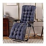 GXFWJD Coussin Chaise Coussins Chaise Berçante/Coussin Chaise Berçante Épaissie/Coussins Siège Intérieur/Coussin Une Pièce avec Attaches Coussins Tatami (Color : Style6, Size : 52 * 150cm)