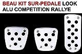 LCM2014 Beau KIT sur-PEDALE ALU ! Look Competition ! Raid Preparation 4X4 ! Montage 3MN par Fixation sur Vos PEDALES EXISTANTES ! Super Look !