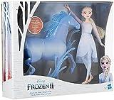 Disney La Reine des neiges 2, poupée Elsa et figurine Nokk, jouet pour enfants, à partir de 3ans