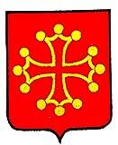 Patch ecusson brodé midi-pyrénées blason armoirie drapeau region heraldique