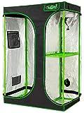 VITA5 Chambre de Culture 2 en 1 | Box Culture Indoor pour Homegrowing | Toile résistante à la lumière et aux déchirures | Imperméable Grow Tent | 90x60x135 cm